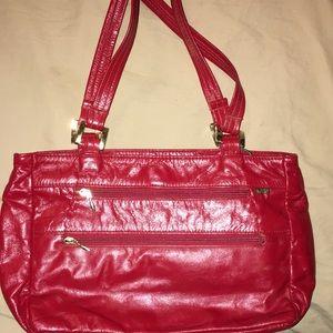 Red sas purse